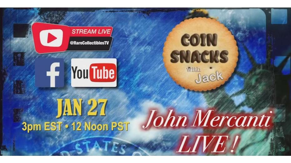 John Mercanti joins Coin Snacks with Jack!
