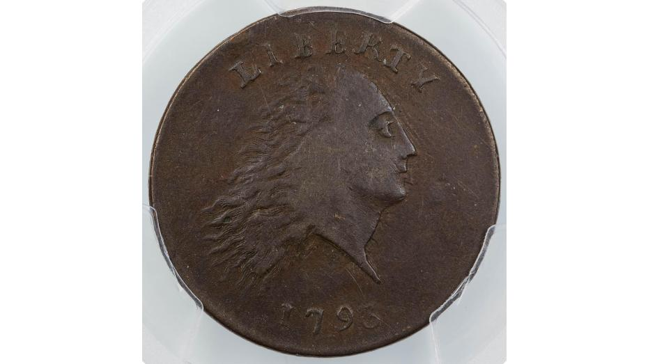 1793-P Flowing Hair Chain Cent PCGS XF40