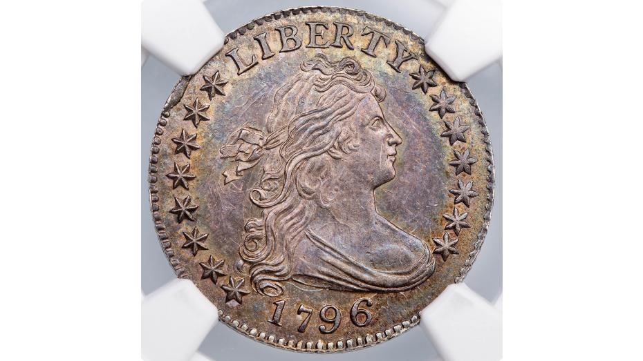 1796 Draped Bust Dime MS65