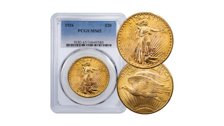 1926-P Gold Double Eagle MS65