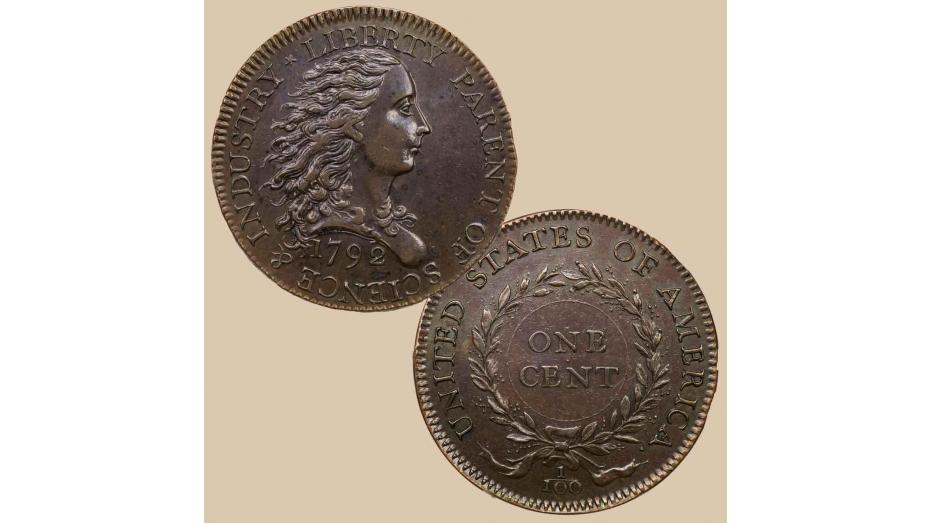 Early U.S. Coins: The 1792 Birch Cent