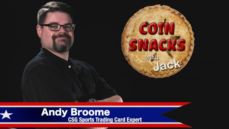 Coin Snacks with Jack joined by Andy Broome, Senior Card Grader at CSG