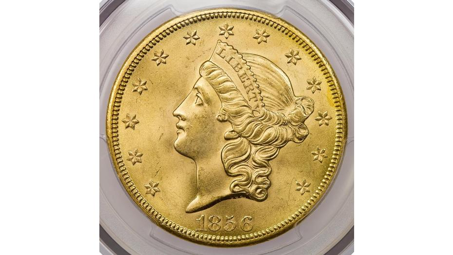 1856-S SS Central America Liberty Head Gold Double Eagle PCGS MS64