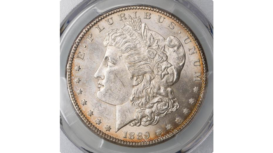 1889-CC Morgan Dollar PCGS MS63 CAC