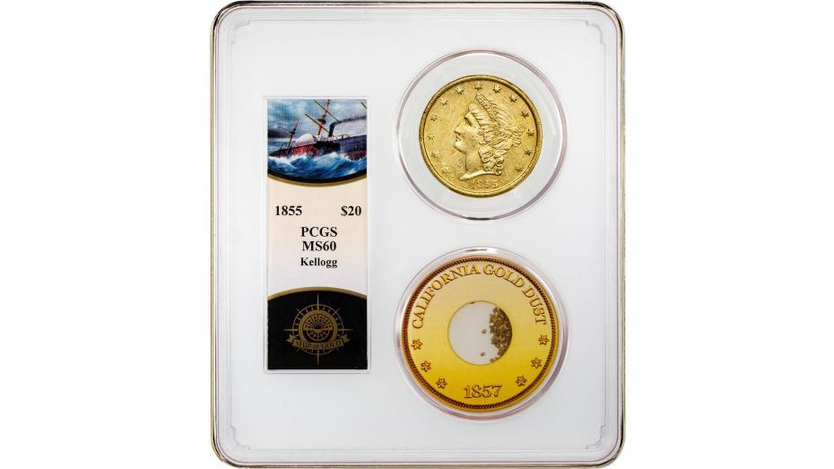 Coin Corner: SSCA Kellogg & Co Liberty Head Gold Double Eagle MS60