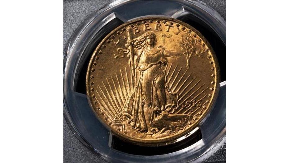 1913-S Saint Gaudens Gold Double Eagle PCGS MS64+