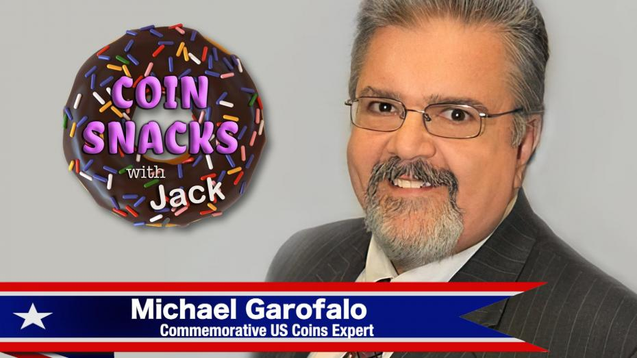 Discussing Gold Commemoratives with Mike Garofalo on Coin Snacks with Jack