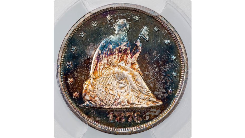 1876 Twenty Cent Piece PCGS PR66 CAM