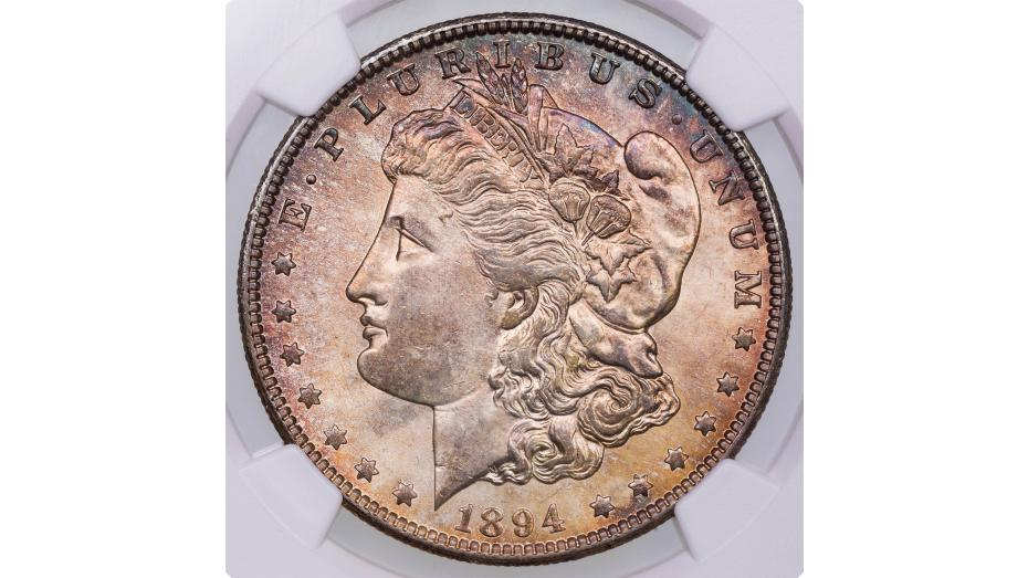 1894-O Morgan Dollar MS64+ CAC