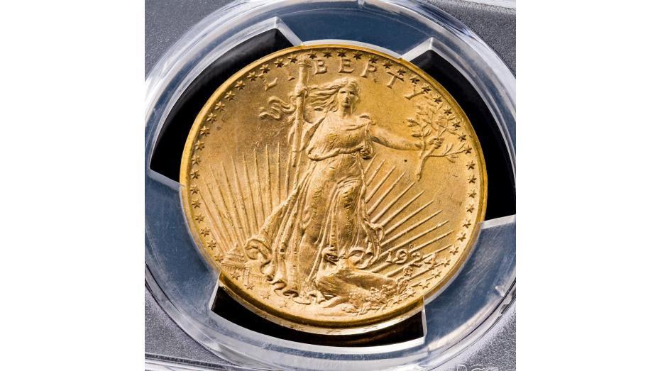 1924-D Saint Gaudens Double Eagle MS64 plus