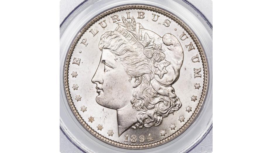 1894-P Morgan Dollar NGG/PCGS MS65