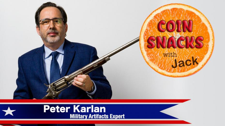 Militaria Expert Peter Karlan Interviewed on Coin Snacks With Jack