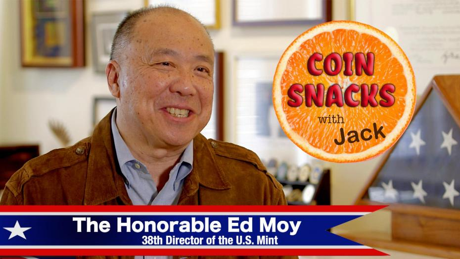 The Honorable Ed Moy featured on Coin Snacks with Jack