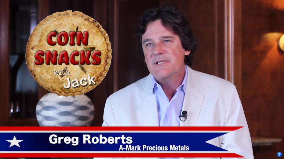 Coin Snacks with Jack welcomes Greg Roberts of A-Mark Precious Metals