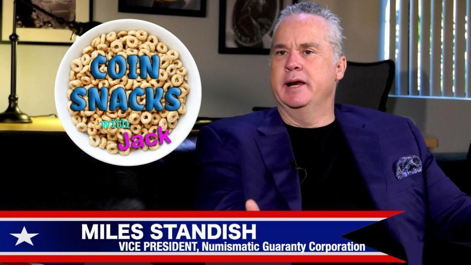 Miles Standish Returns to Coin Snacks with Jack