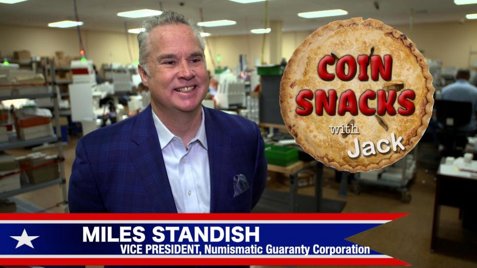 Miles Standish, VP of NGC, joins Coin Snacks with Jack