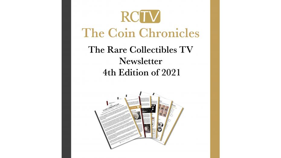 Rare Collectibles TV Newsletter 2021 Edition 4