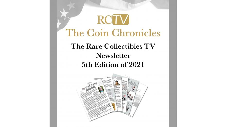 Rare Collectibles TV Newsletter 2021 Edition 5