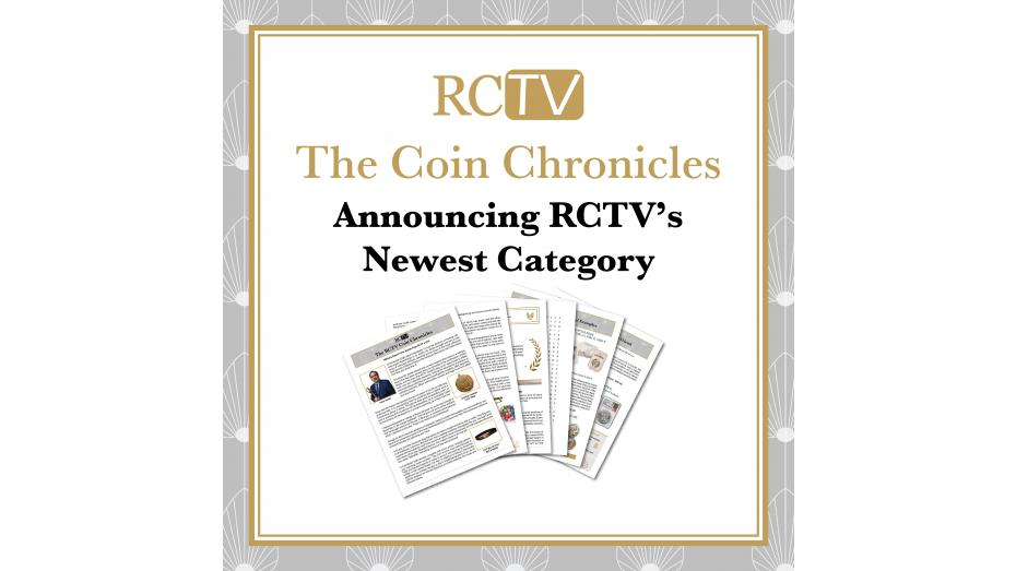 The RCTV Coin Chronicles: Announcing New