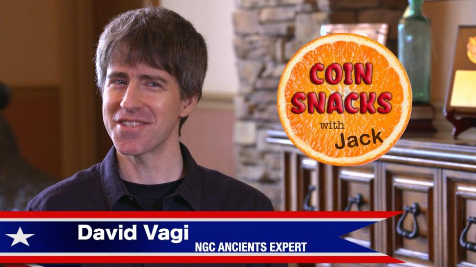 David Vagi enlightens Coin Snacks with Jack on Ancient Coins