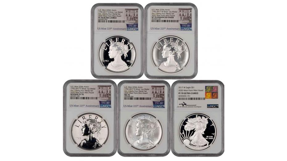 NGC Certifies Special Releases from US Mint Reserves with West Point Mint Hoard Attribution