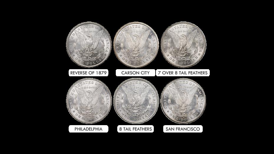Morgan Dollar 1878 Year Set