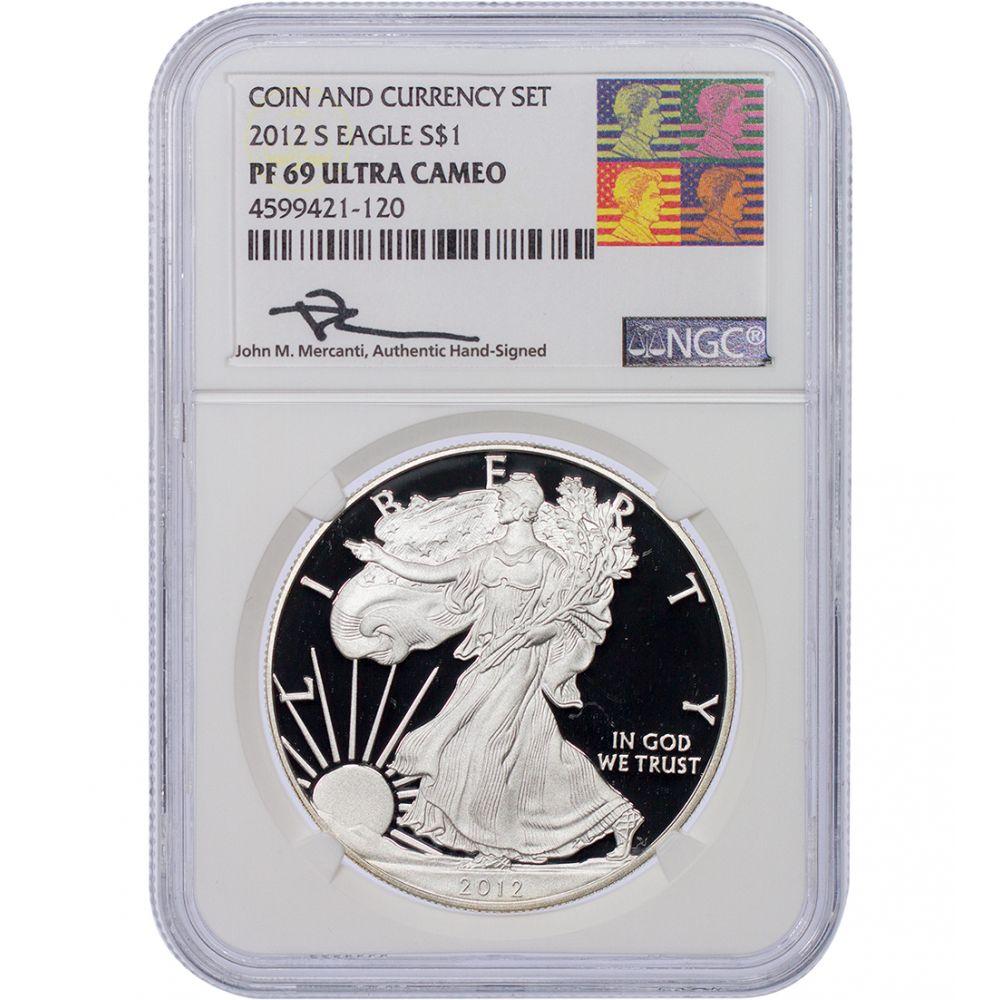 2011 W American Silver Eagle $1 PF69UCAM NGC