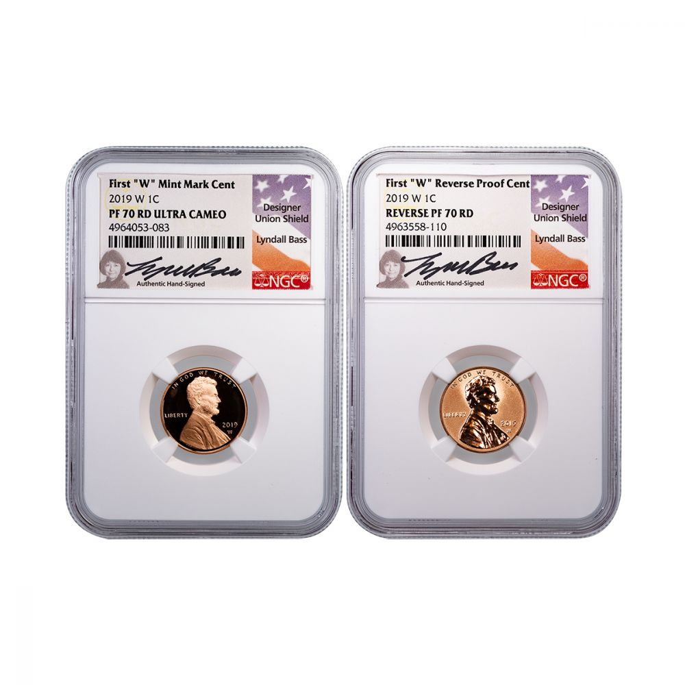 2nd W Coin of 2019 2019 W 1C NGC PF69 Reverse Proof Lincoln Cent Early Release