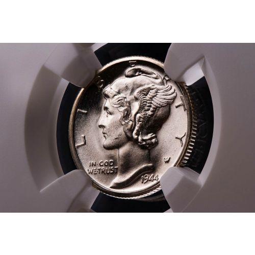 1944-D Mercury Dime MS67