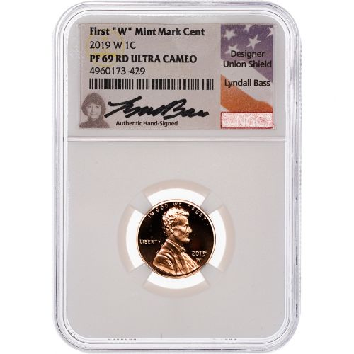 .01 2019-W Lincoln Cent NGC PF69RD UCAM