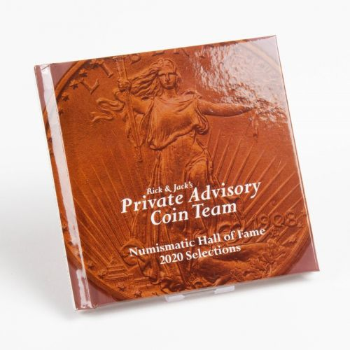 RCTV Private Advisory Coin Team's 2020 Mini Hall of Fame Book