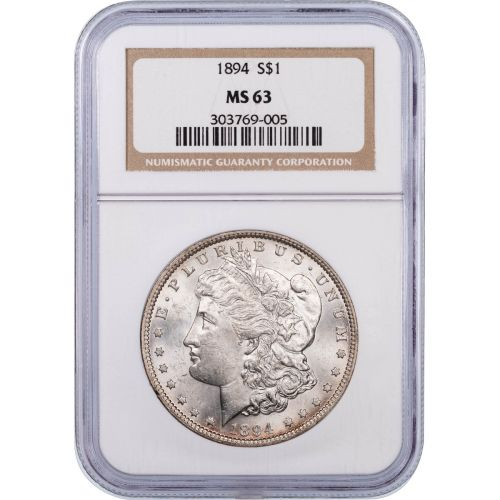 1894-P Morgan Dollar NGC/PCGS MS63