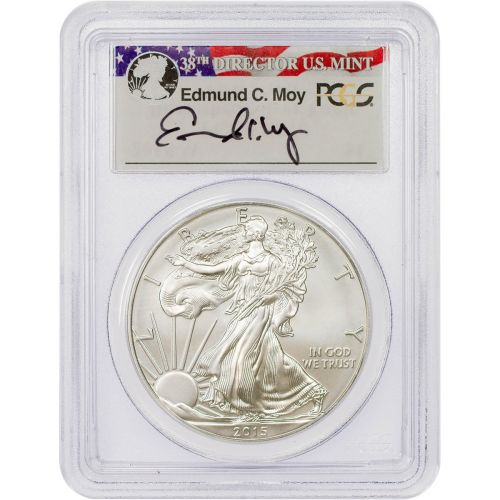 2015-W Burnished American Silver Eagle PCGS SP70 First Strike