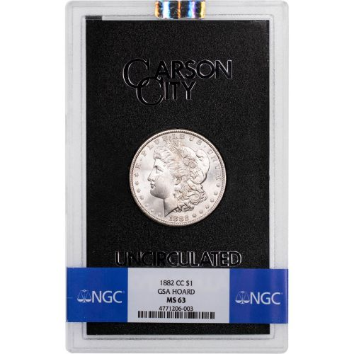 1882-CC GSA Morgan Dollar NGC MS63