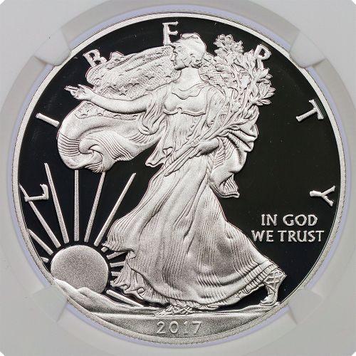 $1 2017-W American Silver Eagle NGC PF70 UCAM