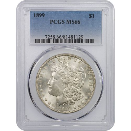 1899-P Morgan Dollar MS66