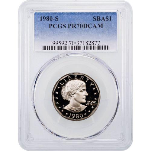 1980-S Susan B. Anthony Dollar PCGS PR70DCAM