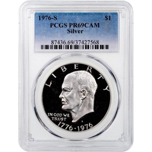 1976-S Silver Eisenhower Dollar PCGS PR69CAM