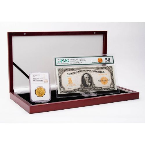 1907 Gold Coin & Currency Collection