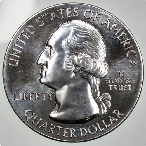 2019-P 5oz Silver ATB War in the Pacific National Park Washington Quarter BU