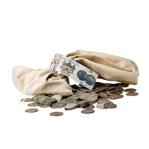 Bag of 100: Varied Date Walking Liberty Half Dollars Circulated