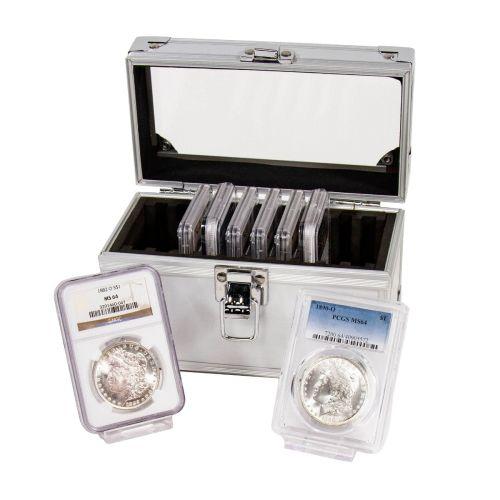 Set of 8: 1882-O - 1890-O Morgan Dollars MS64