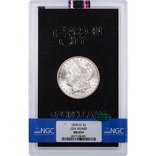 1878-CC GSA Morgan Dollar NGC MS65+