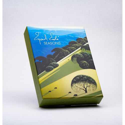 """Eyvind Earle Greeting Cards: Seasons  Spring, Summer, Autumn, Winter"""