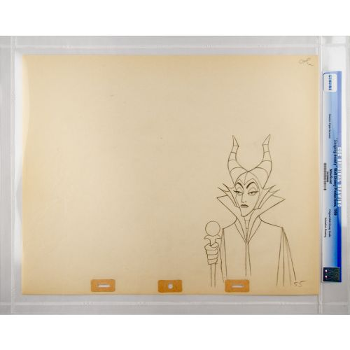 "Disney's ""Sleeping Beauty"" Original Production Drawing of Maleficent E"