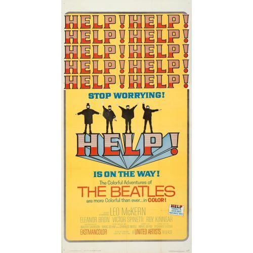 """Help!"" 1965 Movie Poster"