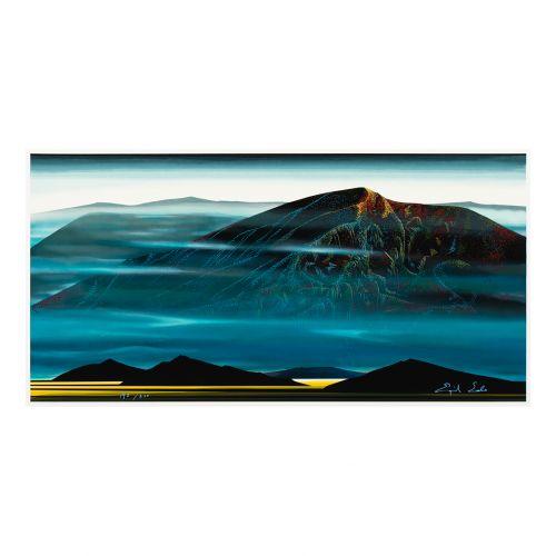 "Eyvind Earle, ""Santa Fe Trail"""