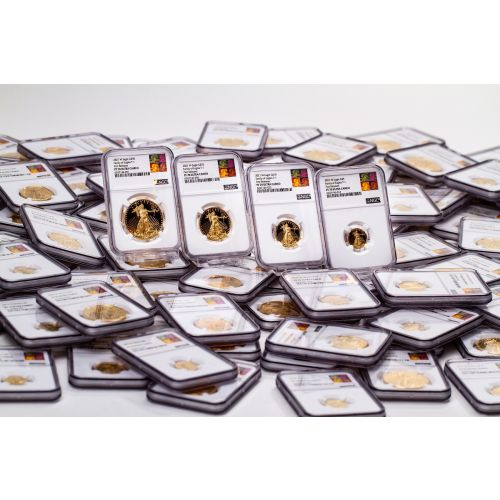 Set of 135: 1986-2021 American Gold Eagles NGC/PCGS PF70 UCAM