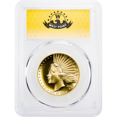 $100 2019 (2021) High Relief EU American Gold Liberty PCGS SP70 PL W.P. Hoard