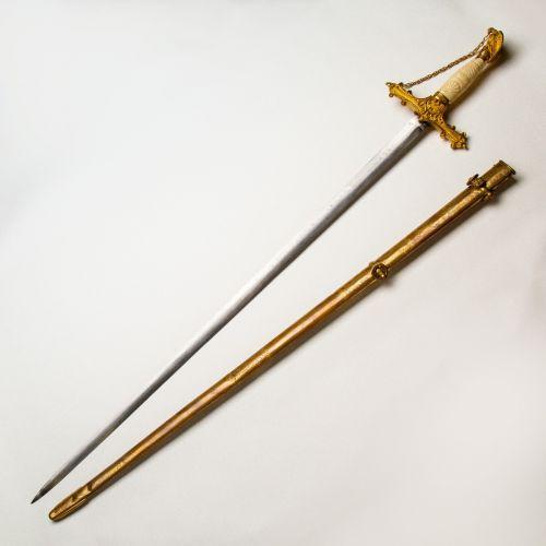 Model 1840 Presentation Grade Militia Staff Officer's Sword